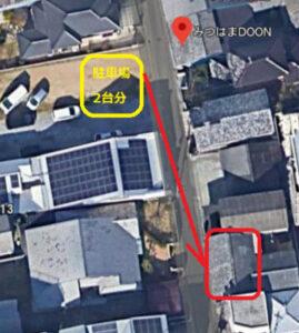 matuyama-cafe&bar-taiyototsuki-parking